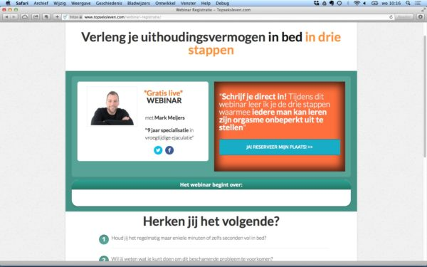 webinar lead magnet - gratis webinar als klantmagneet