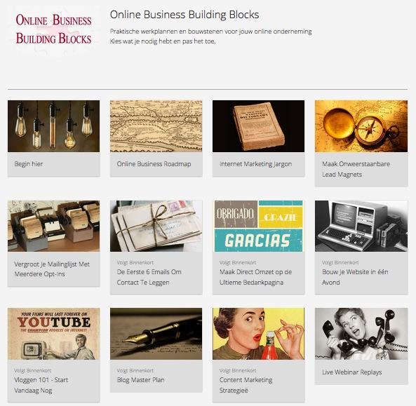 Online Business Building Blocks - Preview