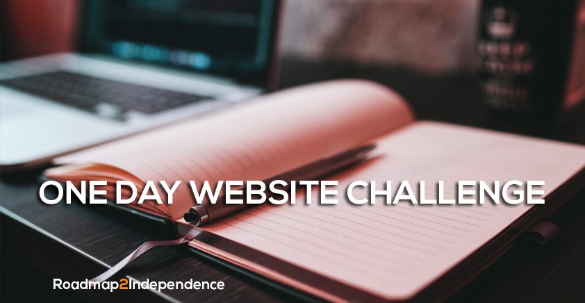 One Day Website Challenge