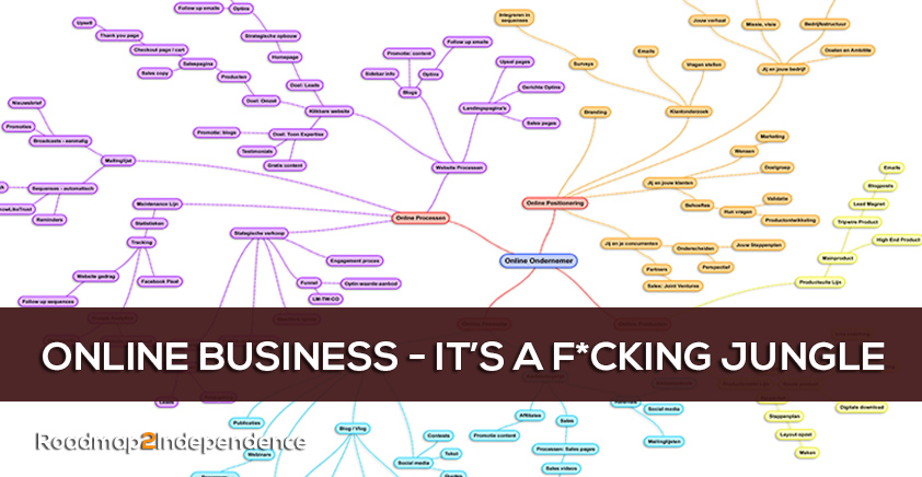 Online Business - it's a f*cking jungle!