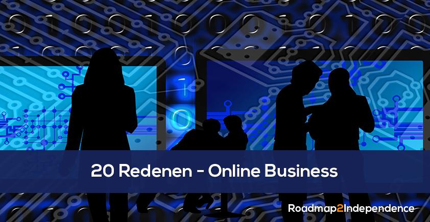 20 Redenen voor een Online Business
