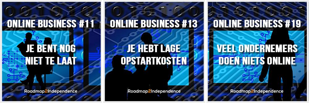 Trio2 - 20 Redenen om nu een online business te starten