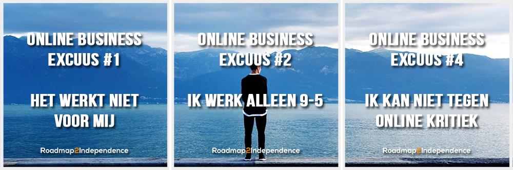 TRIO1 - 7 redenen om geen online bedrijf te hebben