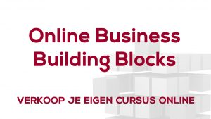 Afbeelding Online Business Building Blocks