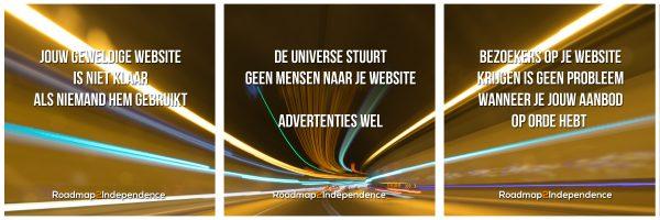 hoe krijg je bezoekers op je website
