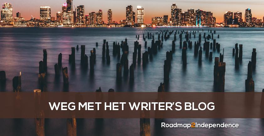 Weg met het Writersblog