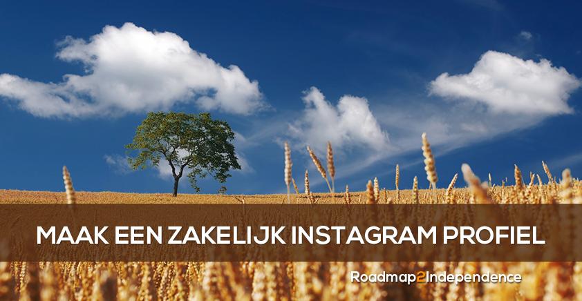 Maak een zakelijk Instagram profiel in 3 stappen