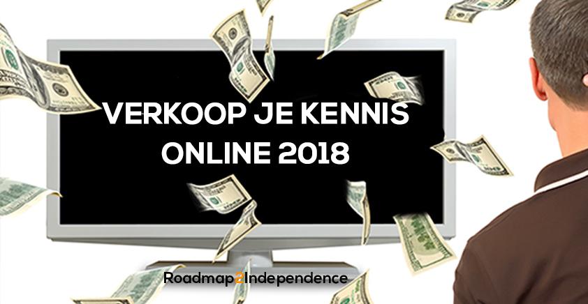 Verkoop je kennis online