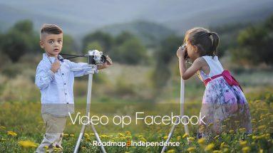 Video op Facebook als ondernemer