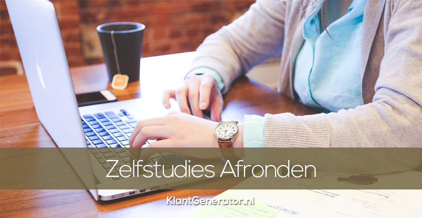 Online Cursussen & Zelfstudies Afmaken