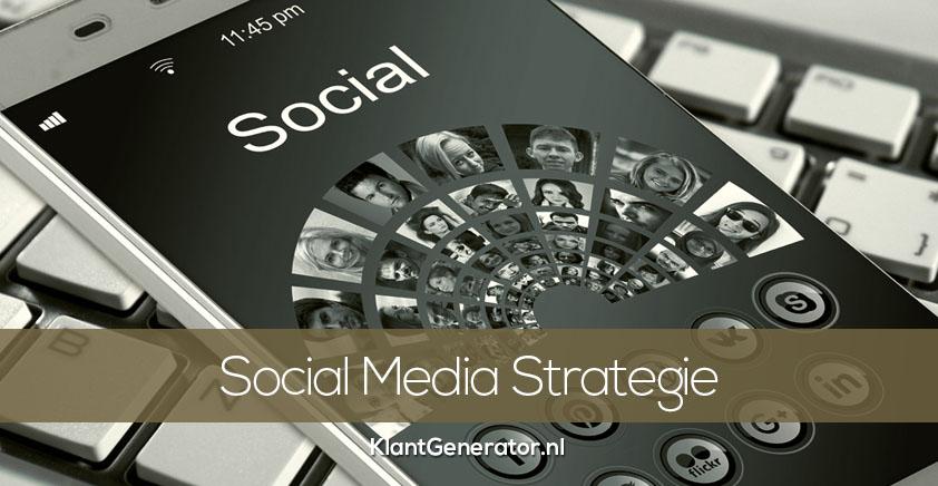 Jouw social media strategie opstellen