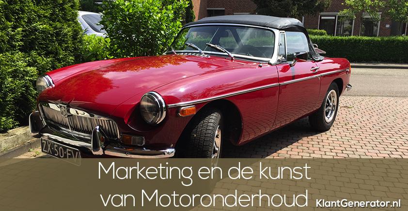Online marketing en de kunst van het motoronderhoud