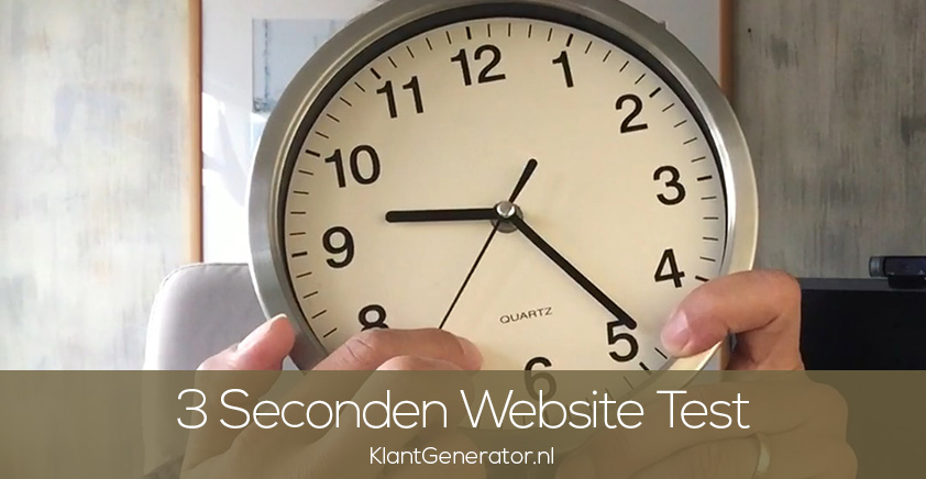3 Seconden Website Test