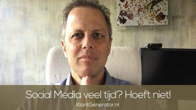 Sociale media veel tijd? heeft niet !10x video social media