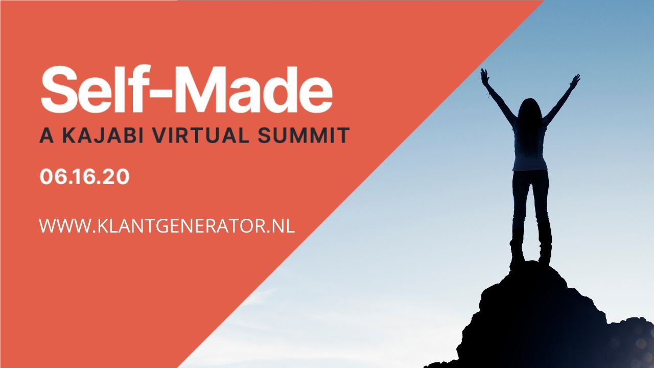 Self-Made, a Kajabi Virtual Summit